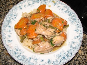 vinegar-braised-chicken