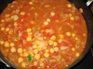 chickpeas-tomatoes