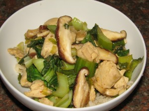 chicken-bokchoy