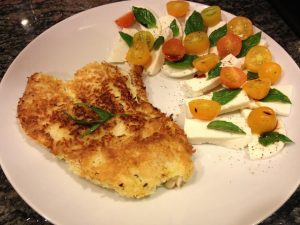 coconut-crusted-cod-caprese
