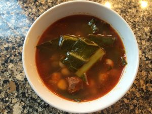 Collard Greens Soup