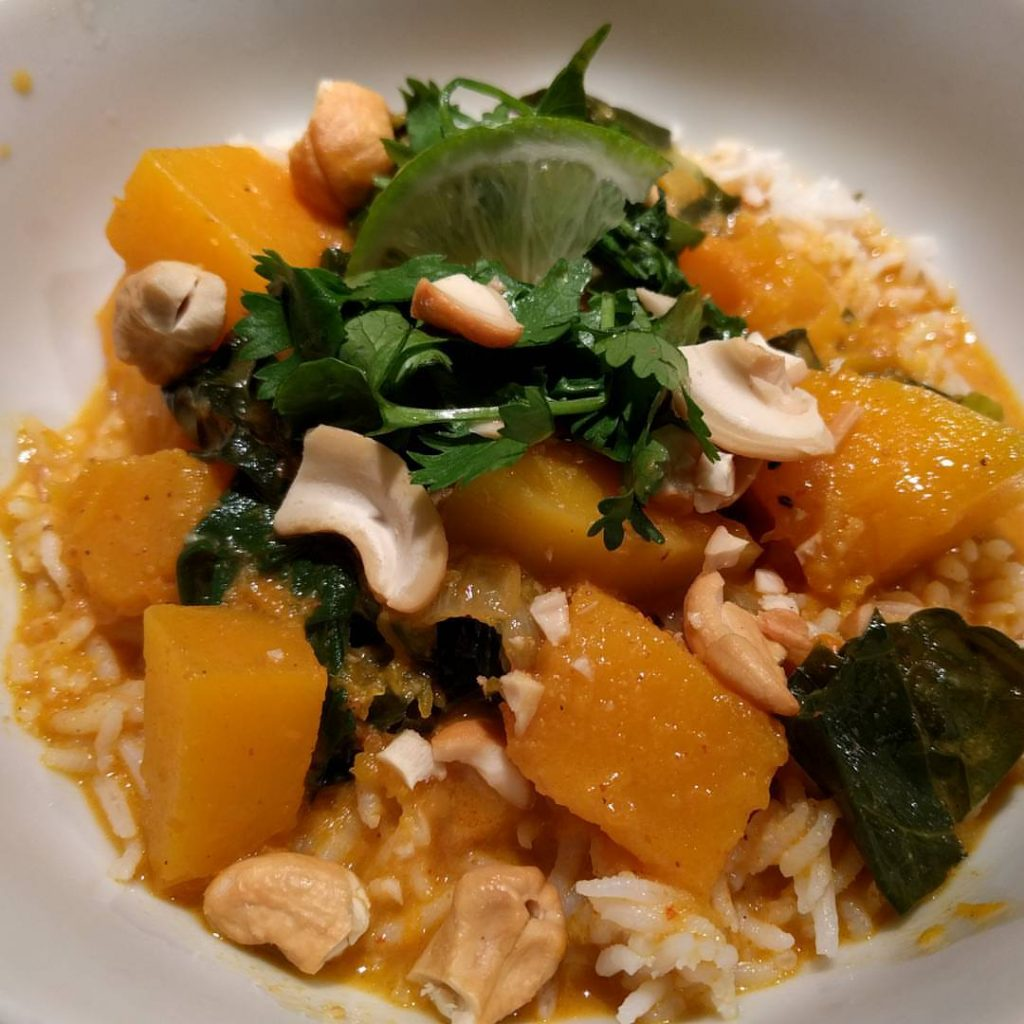Butternut Red Curry
