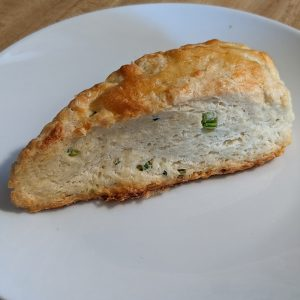 Cheddar scallion jalapeno scone